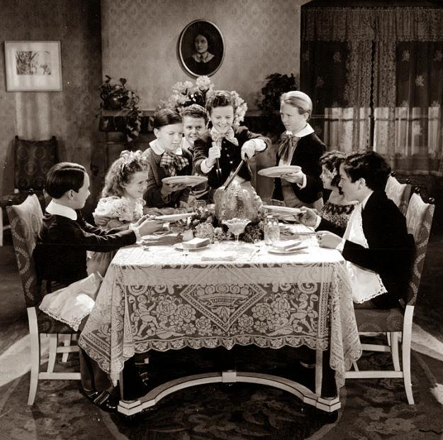 Vintage everyday happy thanksgiving for Jardin 88 doris vera hermoza