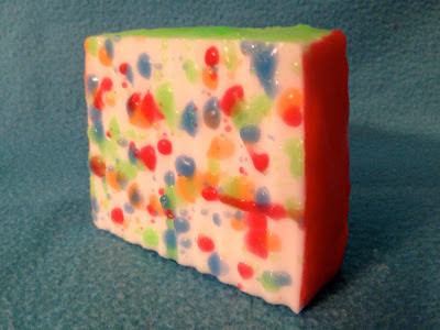 Melt and Pour Soap Making: Splatter Loaf