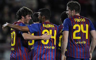 Barcelona 4 - 0 BATE Borisov (2)
