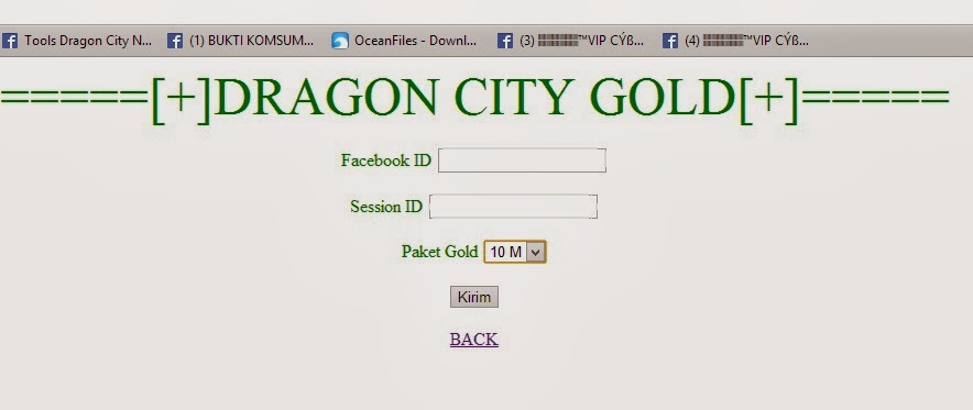 Dragon City Hack Tool  Developed by Dit Lep Xep