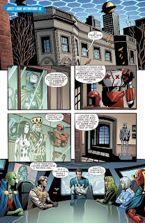 Page 10 of Convergence: Justice League International #1 from DC Comics