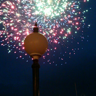 Worthing Pier Fireworks
