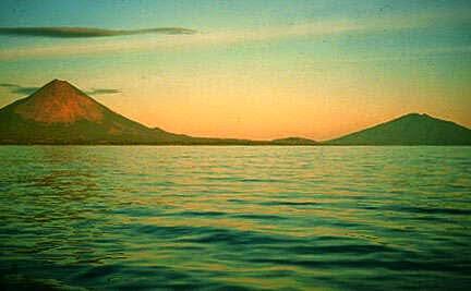 Isla de Ometepe, en el Gran Lago de Nicaragua