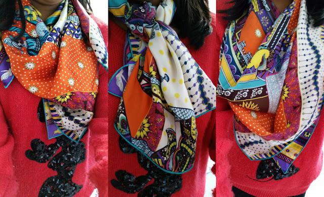 Charmchuri 100% Silk Scarves