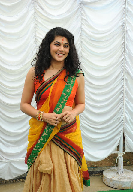 Tapsee hot images in saree