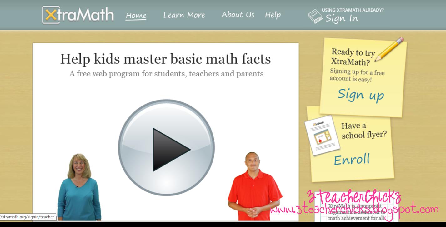 3 Teacher Chicks: Math Facts...A Teacher\'s Continuous Frustration