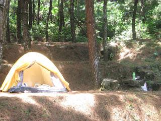 campground curug panjang