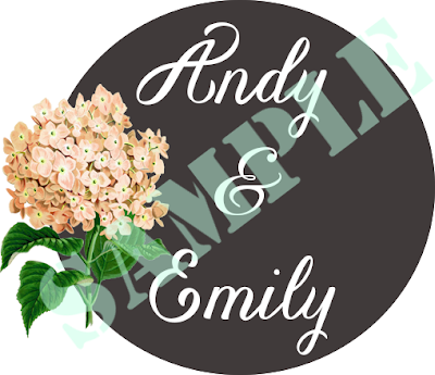 Pixie Dust Bride: Personalized Wedding Logo from Gabbie A