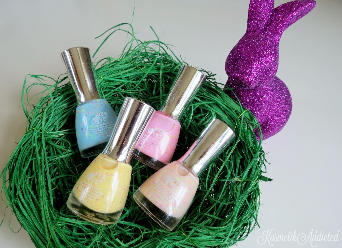Yes Love Neon Glitter Nail Polishes Gewinnspiel