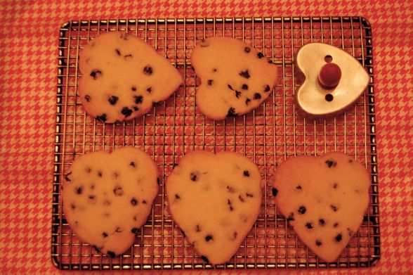 ... shortbread heart cookies for my family i loove shortbread because it s