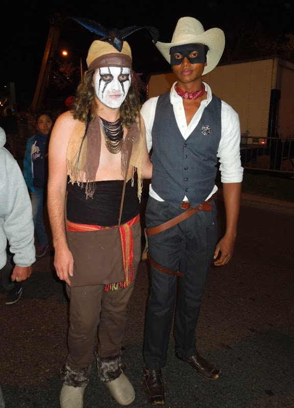 Tonto Lone Ranger costumes West Hollywood Halloween Carnaval