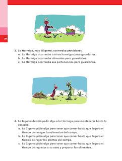 Apoyo Primaria Español 2do grado Bloque 1 lección 12 Palabras desconocidas de la fábula