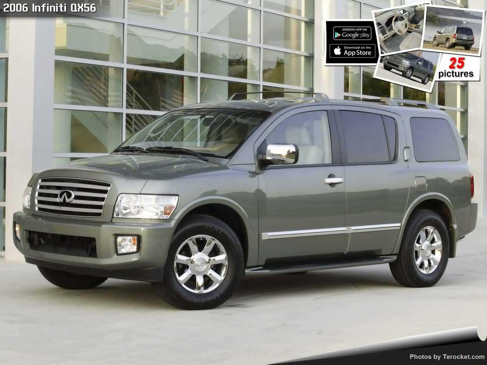 Hình ảnh xe ô tô Infiniti QX56 2006 & nội ngoại thất
