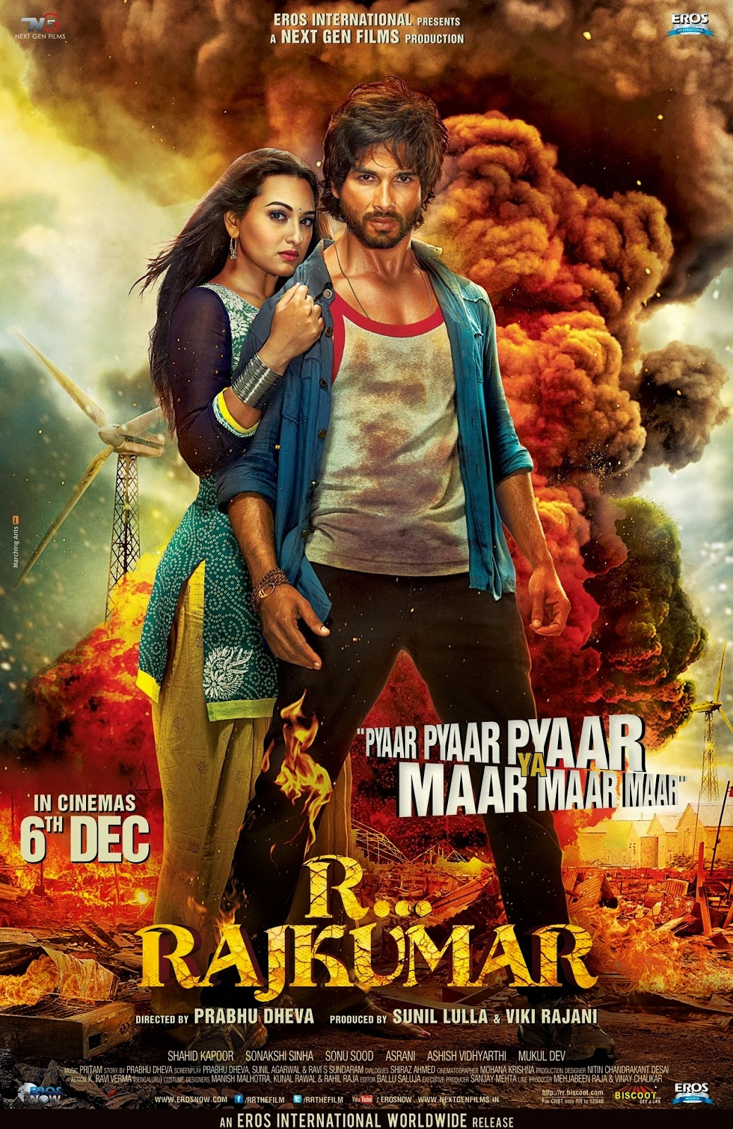 R Rajkumar 2013 Movie Review Trailers Music Videos