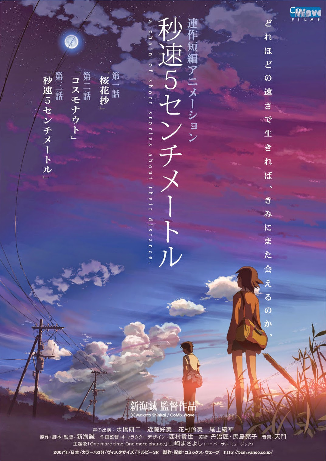 Anime 5 centimeters per second