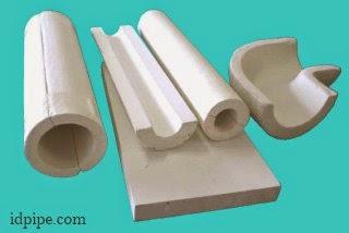 material Calcium silicate pada pipa