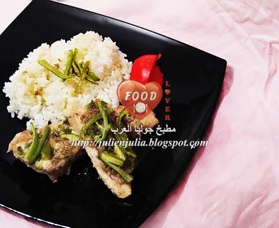 Lemon & Herb Baked Fish Fillets فيليه الهامور بالأعشاب والليمون