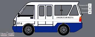 Trayek dan Info Angkot 016 di Tasikmalaya | Kisatasik