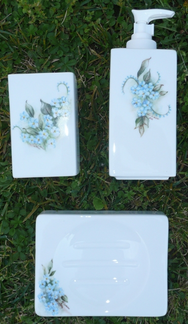 Il giardino fatato dipinti su porcellana - Mia suocera in bagno ...