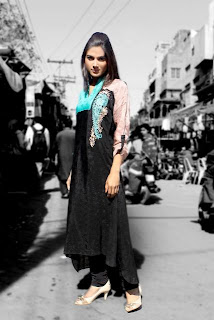 Damak latest Spring kurta Collection for girls