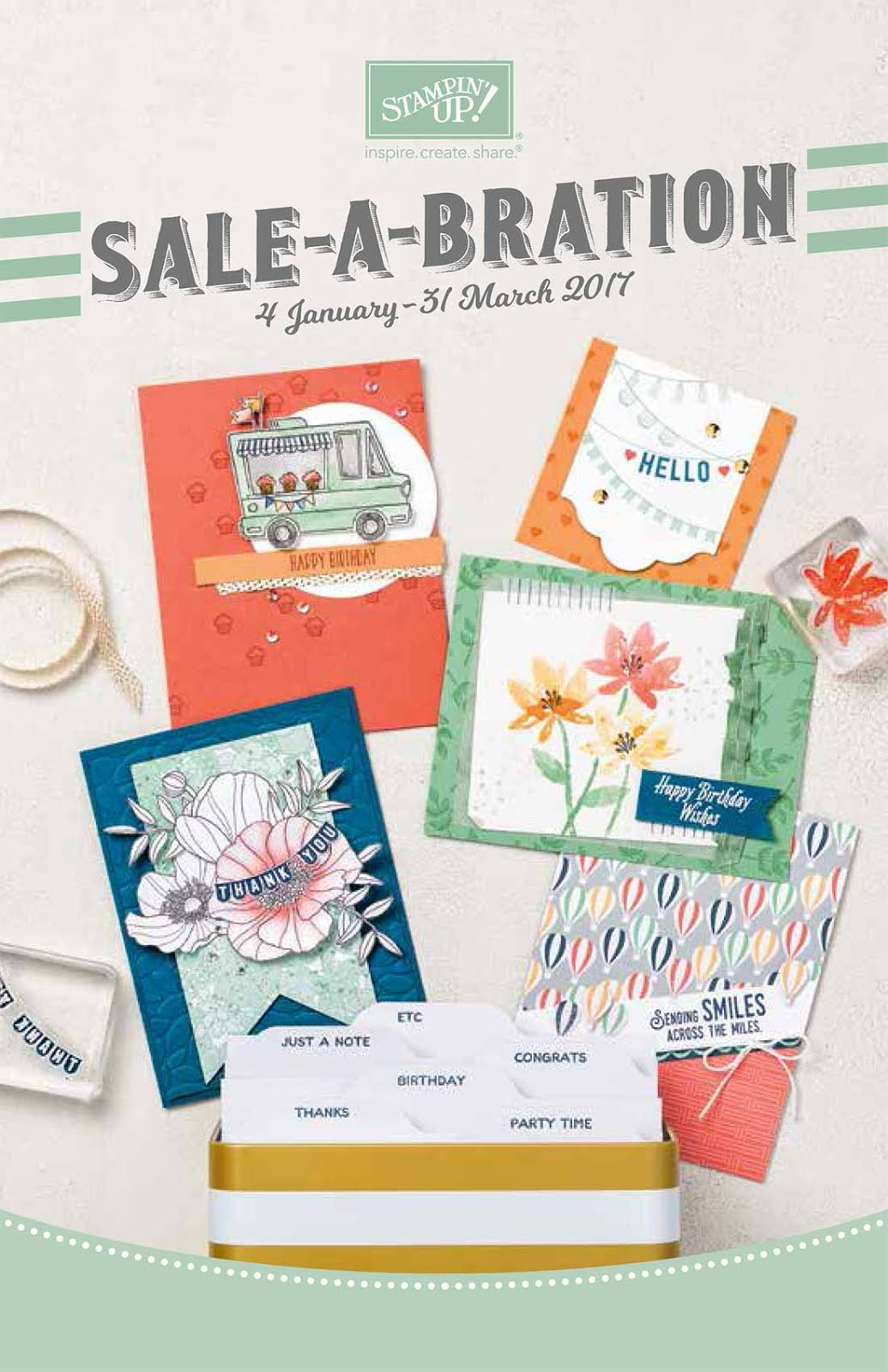 Spend $90 on my online store and receive a FREE Sale-A-Bration item