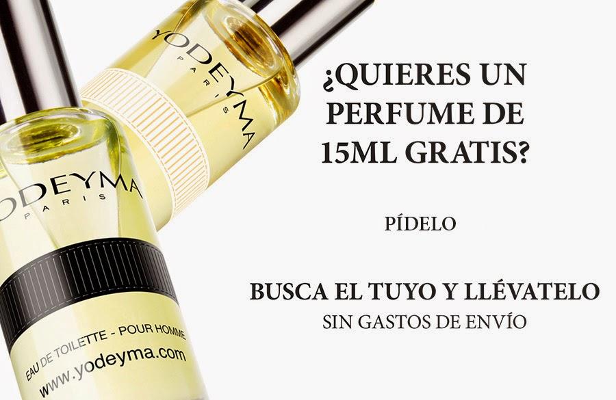 Promoción Yodeyma: perfumes gratis!!