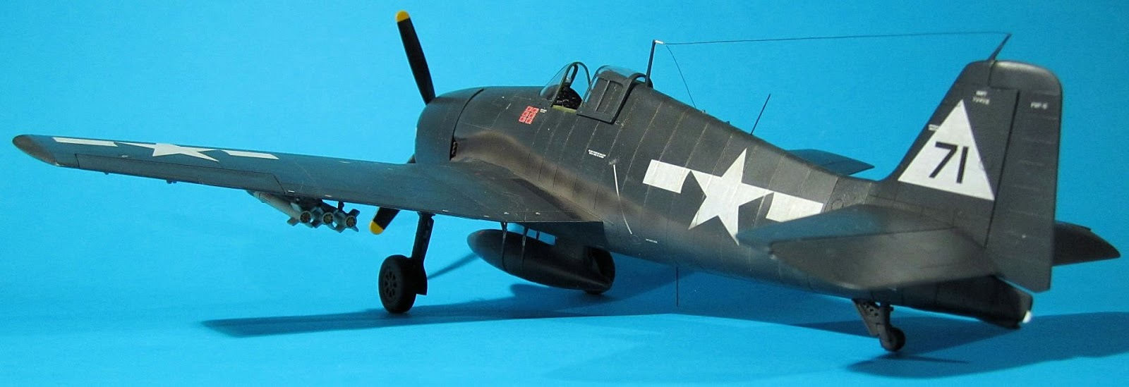 Brett's build of the Eduard Weekend Edition 1/48 Grumman F6F-5 Hellcat