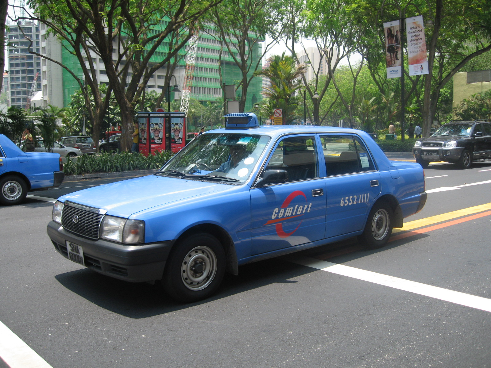 comfort taxi Singapore's comfort transport, which with 9,500 vehicles is the world's largest taxi operator, is now introducing a fully automated.
