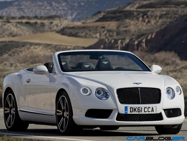 2013 Bentley Continental GT V8 - branco