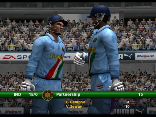 free game cricket 2007