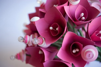 Handmade Flowers From Paper
