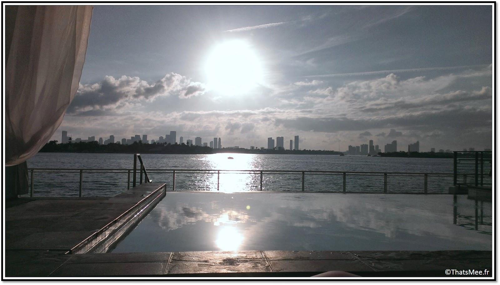 Miami South Beach Hotel Mondrian piscine  1100W avenue