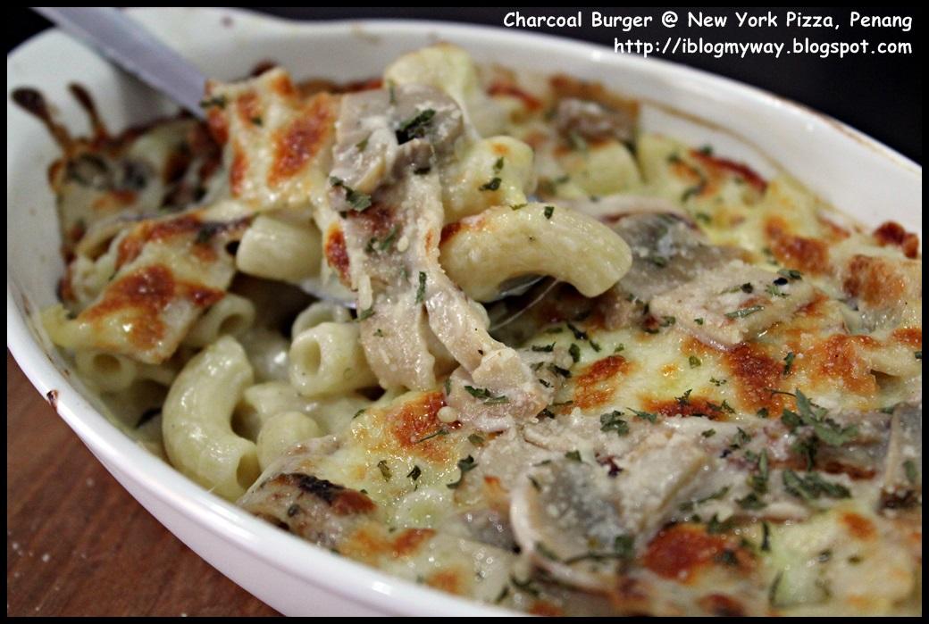 Charcoal Burger @ New York Pizza, Penang - I Blog My Way