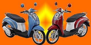 Scoopy Warna 2011 terbaru Merah Biru Candy Read Sugar Blue