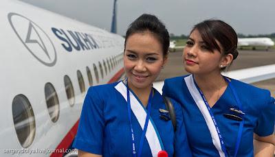 Pramugari Sexy Pesawat Sukhoi4