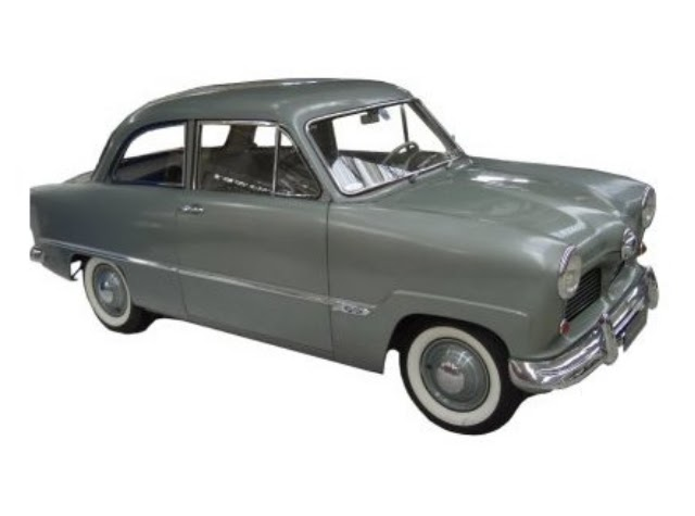 cruiser cl sicos en escala 1 43 ford taunus 12m 1952. Black Bedroom Furniture Sets. Home Design Ideas