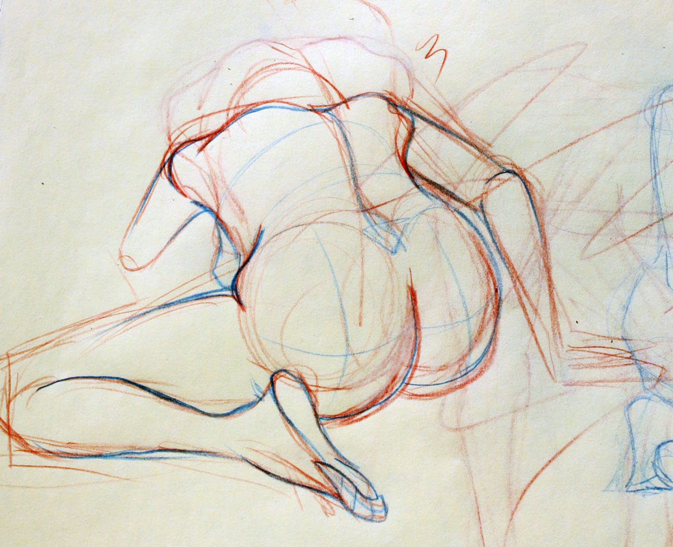 Krick's Art: Life Drawing - Quick Sketches