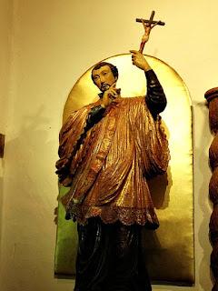 San Francisco Javier no Museu Diocesano de San Ignacio Guazu, no Paraguai.