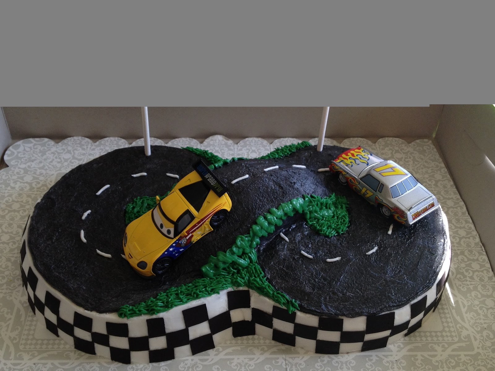 Custom Party Themes: Let's Go Racing!!!