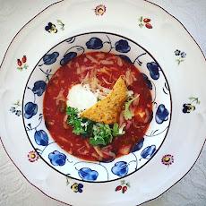 Ukens MAKToppskrift er denne knallgode suppen.