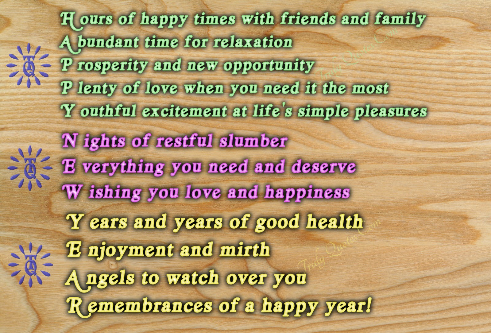 Full Form Of Happy New Year Best New Year Wishes