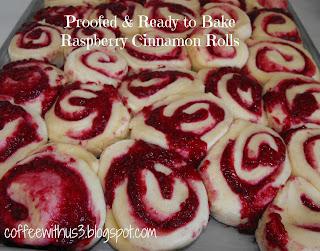 Coffee With Us 3 | Raspberry Cinnamon Rolls with Cream ...