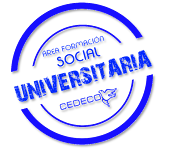 CEDECO ÁREA FORMACIÓN SOCIAL UNIVERSITARIA