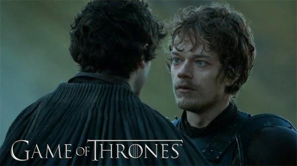 Theon Greyjoy en Juego de Tronos 4x08