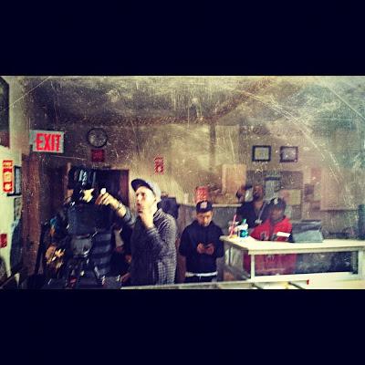 Slaughterhouse на съемках нового клипа.