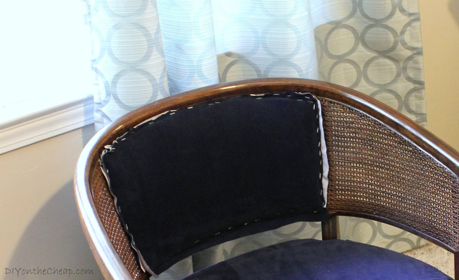 Reupholstered Chair Top Fabric