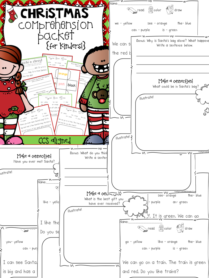http://www.teacherspayteachers.com/Product/Comprehension-for-Kindergarten-The-Seasonal-BUNDLE-1330262