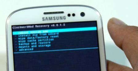 Install CWM Recovery For Galaxy S3