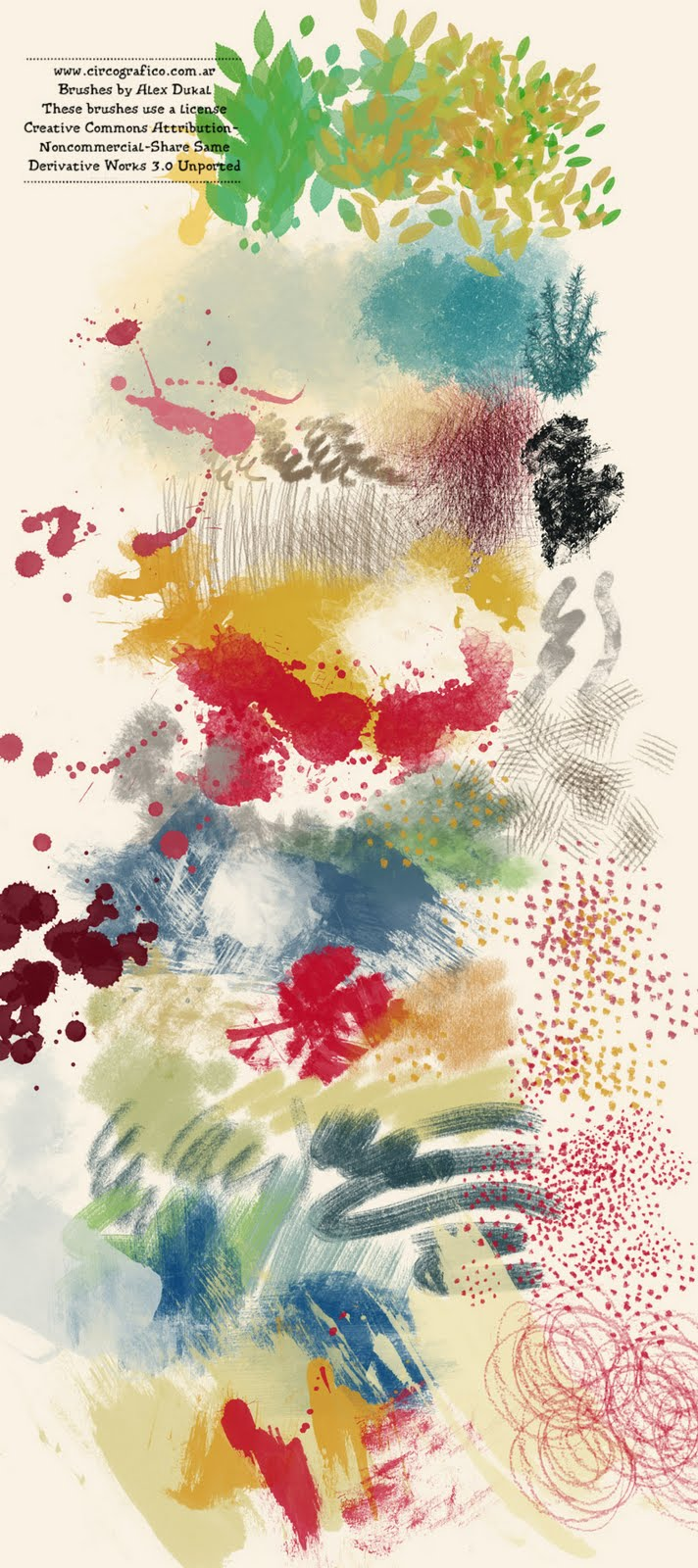 Alex Dukal - Artistic Brushes 2.1