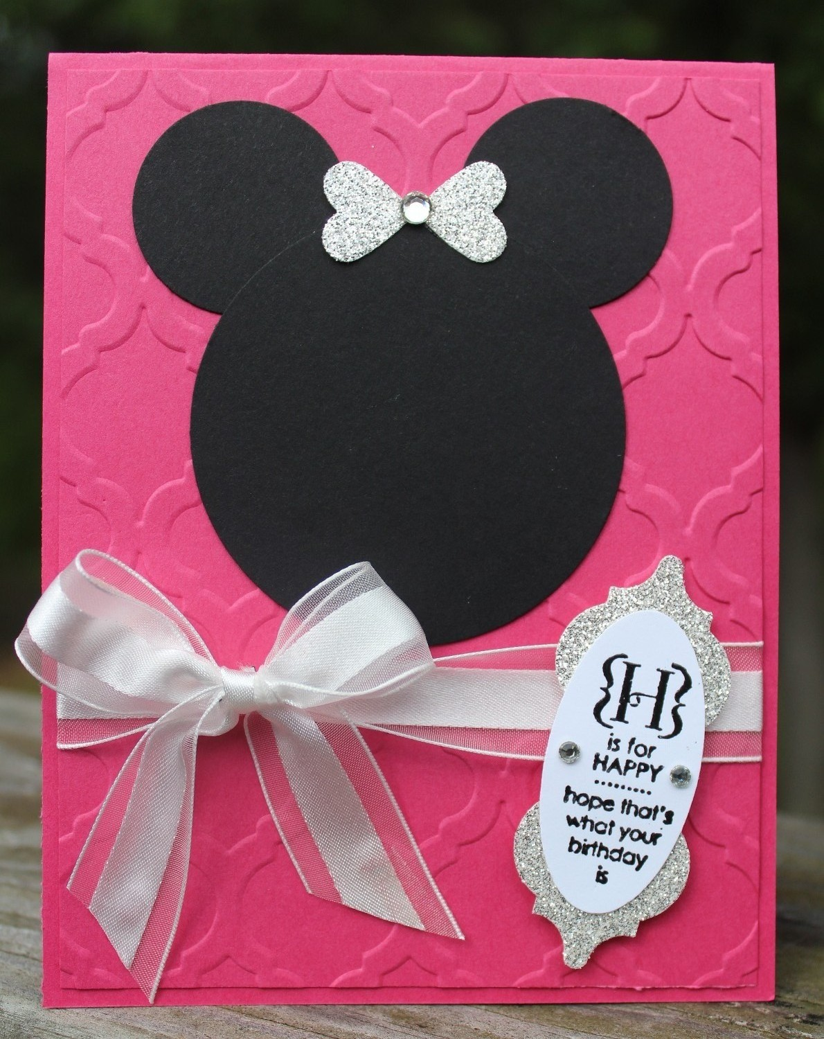 Debbi\'s Design Stamping: Minnie Mouse